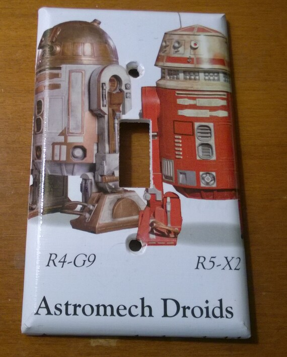 Star Wars Astromech Droids Light Switch Cover