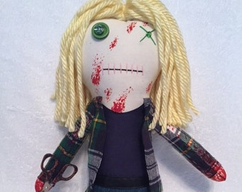 "Creepy n Cute Zombie Doll - ""Jesse Anderson"" - Inspired by TWD (P)"