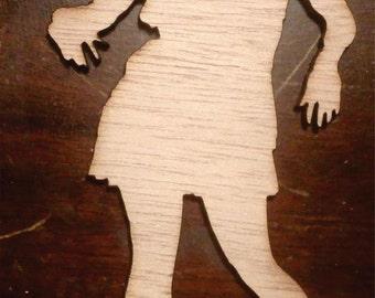 zombie woman/ zombie cutout/ home decor MEDIUM