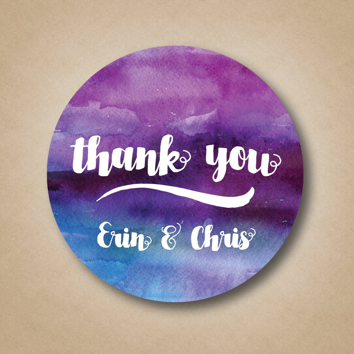 Thank you stickers wedding favor labels custom favor tags for Stickers for wedding favors