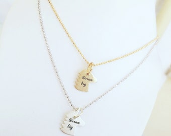 Unicorn necklace in sterling silver 925