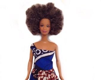 Natural Afro Hair Doll