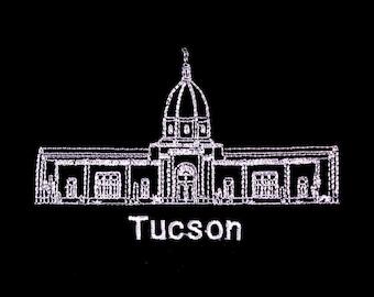 Embroidered Tucson Arizona Temple