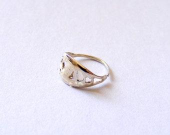 INDIAN NOSE RING silver nose ring, nose ring silver, ooak, small nose ring, dainty nose ring, Indian nose ring, tribal nose ring