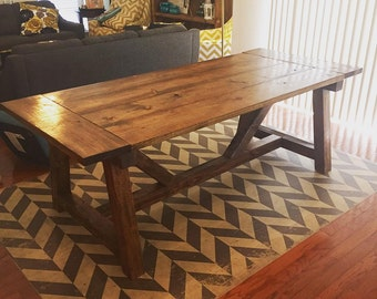 Farmhouse Dining Table + Dining Table Benches + Farmhouse Dining + Dining  Table + Table +