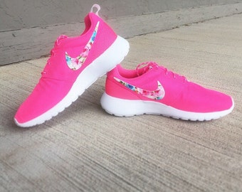 gahov Nike Roshe Run Floral Girls/Womens Floral by GymPrincessCustoms
