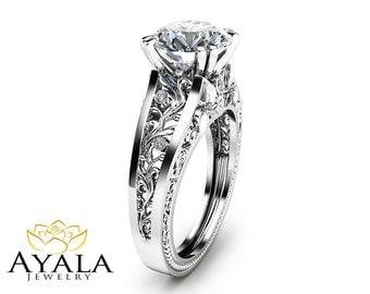 Filigree Wedding Ring Sets 35 Superb Unique engagement rings