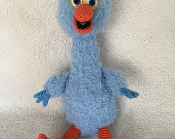 "Pino pattern "" look a like "" Sesame Street amigurumi crochet pattern Dutch and Englisch pdf"