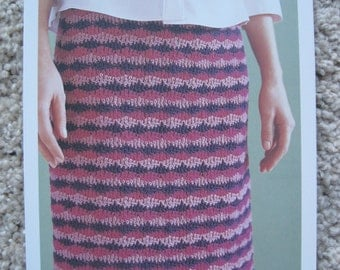 "Crochet Pattern - Flirty Skirt - Hips 45.5"" to 52"""