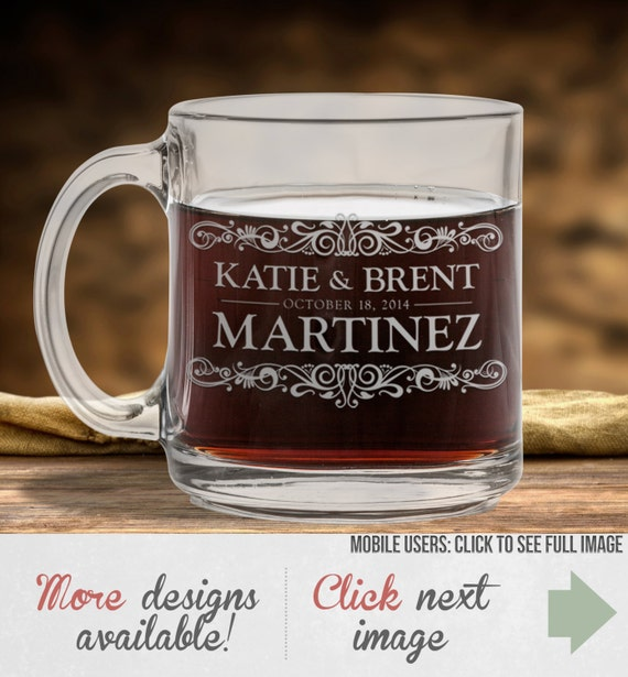 Customized Wedding Coffee Mugs : Drawing & Illustration Fiber Arts Glass Art Mixed Media & Collage ...