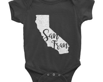 San Fran Onesie // San Francisco Baby // California Bodysuit // Baby Shower Gift