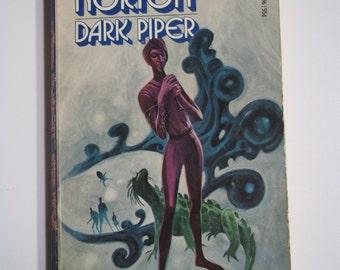 Dark Piper by Andre Norton ACE Books 1968 Vintage Sci-Fi Paperback