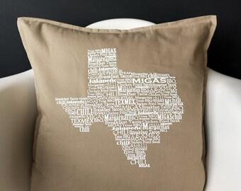 Texas Pillow (Feather insert)