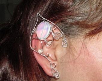 Elf Ears - Lady of Light 2, elven ears, Elven Wedding, elf costume, elven ear cuff, elven ear wrap, fairy ears, elvish jewelry, elf ears