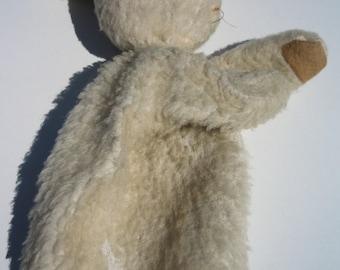 Vintage Bunny Rabbit Hand Puppet