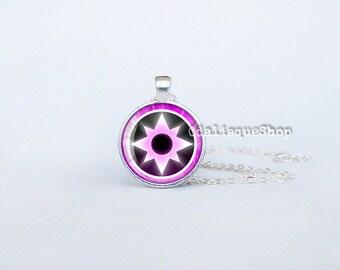 Sapphire Lantern Corps Necklace Handmade Pendant Bronze Superhero Jewelry cs239