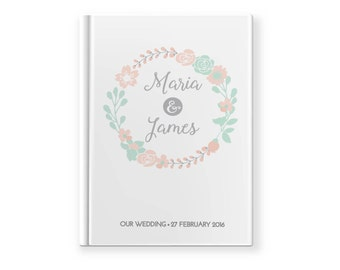 Wedding Guest book | Engagement Guest book | guestbook | Custom Made | Journal | photo album