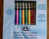 Set of 8 DMC Satin Floss Radiant Treasures Collection Embroidery Cross Stitch Needlepoint