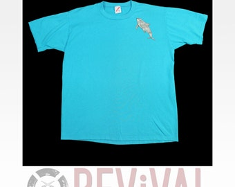 Vintage Dolphin Research T Shirt ~ Size XL