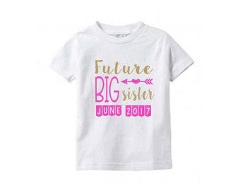 FUTURE Big SISTER Toddler T-shirt