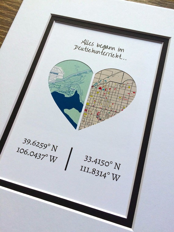 Custom quote longitude and latitude gift for best friends for Best friend anniversary gift ideas