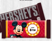 Mickey Mouse Chocolate Bar Wrapper
