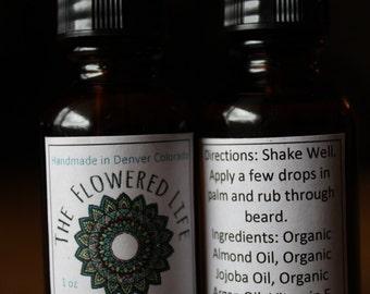 Organic Tough Guy Beard Oil