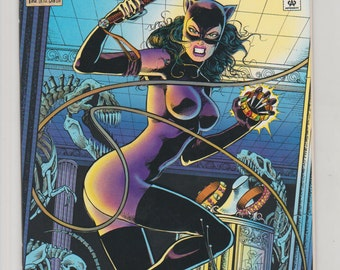 Catwoman; Vol 2, 1, Moderm Age Comic Book.  NM (9.4).  August 1993.  DC Comics
