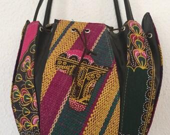 Raffia Handbag