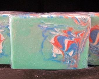 Bright Star Cold Process Goat's Milk Silk Soap