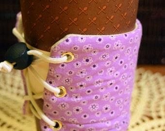 Purple Adjustable Drink Cozy