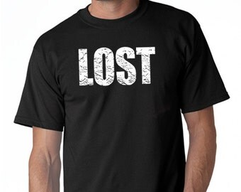 LOST T-Shirt From the TV Show Lost