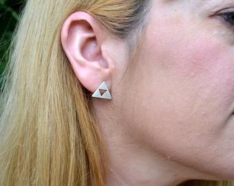 triforce earrings/zelda earrings/legend of zelda jewelry