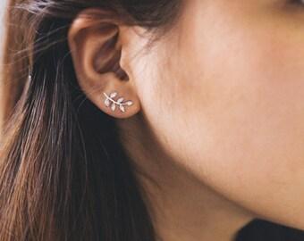 Stone Branch Earrings