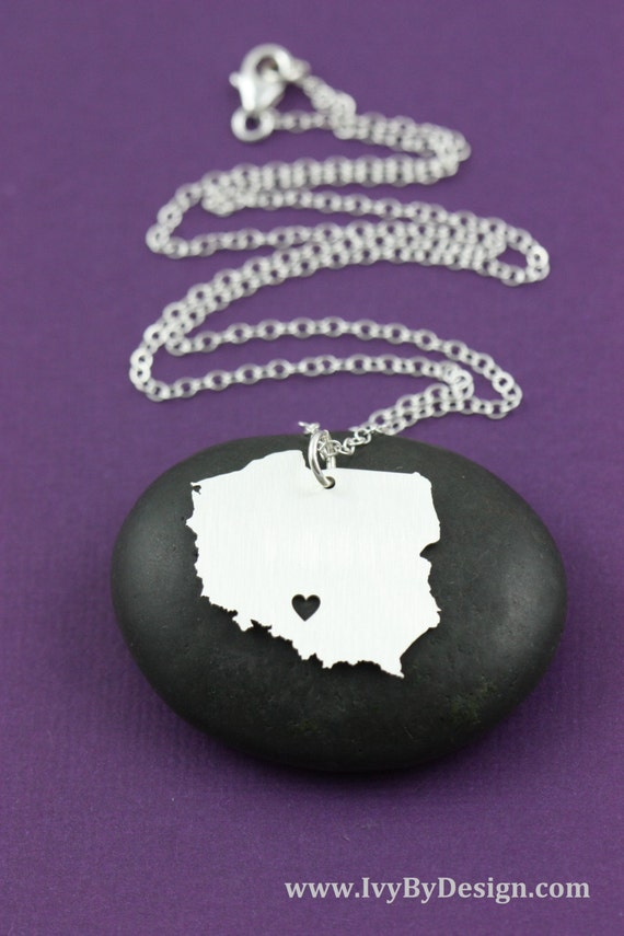 Poland necklace poland jewelry europe charm by ivybydesign for Direct jewelry falls church va