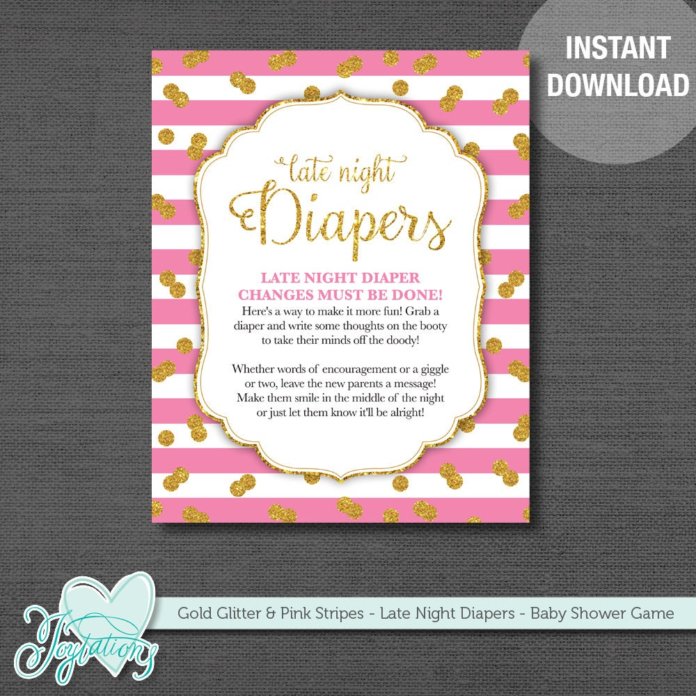 This is a graphic of Persnickety Late Night Diaper Messages Free Printable