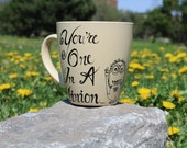 You're One In A Minion Coffee Mug with Bottom Joke