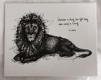Original Character Lion