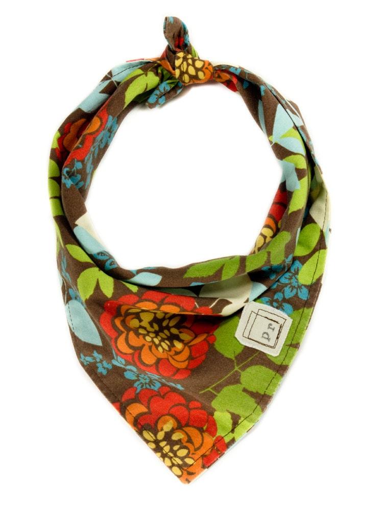 bandana floral scarf flowers pet bandanna summer