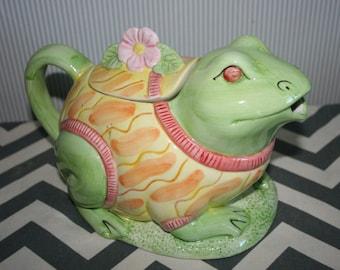 Frog Teapot by Seymour Mann