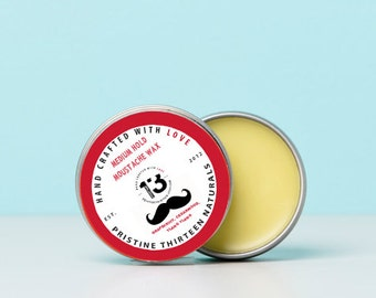 Grapefruit, Cedarwood, Ylang Ylang Moustache Wax