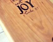 Bread Board, Scripture, C...