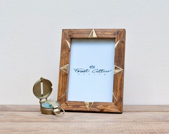 5x7 Picture Frame | Wood Picture Frame | On Adventure