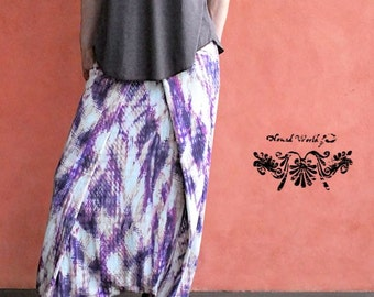 SAMURAI Pants, Tribal,yoga,festival clothes, bohemian,gypsy,soft fabric,Nomad World
