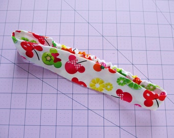 Mickey and Minnie Mouse Fruits Print Cotton Elastic Headband