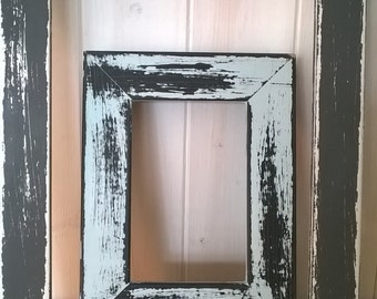 "A3 - 6"" x 4"" Thick Box Moulding Frame Shabby Chic Picture Frame Choice Of Colour **ANY 5 Frames 20 POUNDS OFF***"