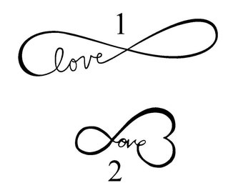 Love Infinity Vinyl Decal/Sticker