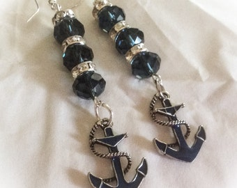 Beach earrings, beach jewelry, beach bracelet, nautical jewelry, graduation gift, earrings, nautical jewelry, beach jewelry, Mother's Day