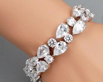 Gorgeous Zircon High Quality Bridal Bracelet