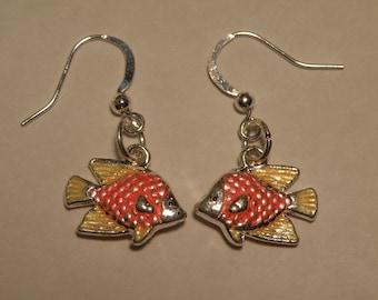E21  Yellow and Orange Fish